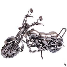 رخيصةأون ديكورات خشب-الفنون والحرف المعدنية فائقة نموذج دراجة نارية عرض أجزاء النقاط الساخنة
