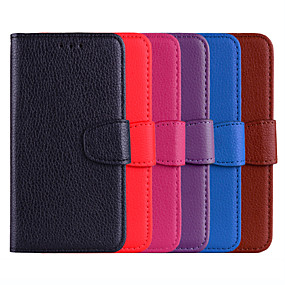 cheap Galaxy A7(2016) Cases / Covers-Case For Samsung Galaxy Galaxy A30(2019) / Galaxy A50(2019) Flip / Card Holder Full Body Cases Solid Colored Hard PU Leather for Galaxy A30(2019) / Galaxy A50(2019) / A3(2016)