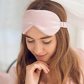 povoljno Putna oprema-Maska za spavanje Eye Patch 1 komad Neformalan Uniseks 100% svila