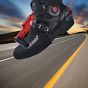 olcso Cipővédő-felnőttek kerékpáros cipője cipő / cipő kerékpáros cipő lökhárító nylon motorkerékpárút futó cipő kerékpáros cipő fekete unisex férfi kerékpáros cipő