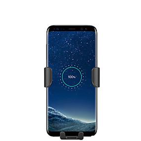 abordables Chargeurs de Voiture-Support de bâti de voiture de chargeur rapide sans fil 10w qi pour iphone xs max samsung s9