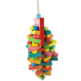 cheap Bird Accessories-Bird Perches & Ladders Pet Friendly Focus Toy Felt / Fabric Toys Bird Wood 40 cm