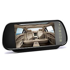 Недорогие Автоэлектроника-7-дюймовый 12-24В монитор зеркала заднего вида - сенсорное управление 43 соотношение 480x234