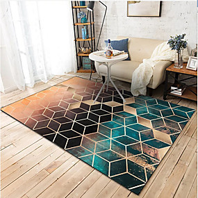 cheap Mats & Rugs-Area Rugs Classic / Modern Polyster, Rectangle Superior Quality Rug