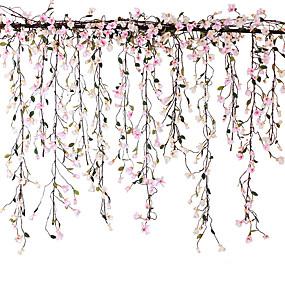 رخيصةأون أزهار اصطناعية-زهور اصطناعية 1 فرع كلاسيكي معلقة على الحائط تقليدي أسلوب بسيط الأوركيد / السحلبية الزهور الخالدة أزهار الحائط
