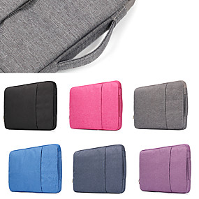 "abordables Coques d'MacBook Air 11""-sacs à main de couleur unie pour sac d'ordinateur portable macbook pro air 11-15"