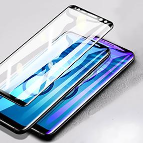 Недорогие Чехлы и кейсы для Galaxy Note-защитная пленка для samsung galaxy note 8 / note 9 3d изогнутое закаленное стекло 1 шт. передняя защитная пленка для экрана высокой четкости (hd) / твердость 9 ч / взрывозащищенный