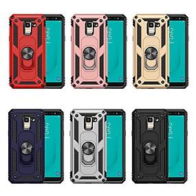voordelige Galaxy J7(2017) Hoesjes / covers-koffer voor Samsung Galaxy j4 plus (2018) / j7 (2018) met standaard / schokbestendige cover Armour hard pc voor j2 pro 2018 / j3 (2018) / j4 (2018) / j6 (2018) / j7 (2018) / j5 ( 2017) / j7 (2017)