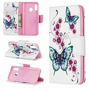 voordelige Galaxy A5(2016) Hoesjes / covers-case voor Samsung Galaxy a70 (2019) / a20e patroon / magnetische / flip full body gevallen vlinder hard pu leer voor galaxy a10 / a30 / a20 / a30 / a40 / a50 / a70 2018 / a6 2018 / a8 plus 2018 / a5