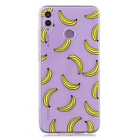 Недорогие Чехлы и кейсы для Huawei серии Y-чехол для huawei honor 8x / huawei p smart (2019) выкройка / прозрачная задняя крышка банан мягкое тпу для mate20 lite / mate10 lite / y6 (2018) / p20 lite / nova 3i / p smart / p20 pro