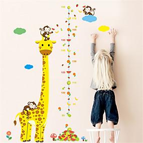 رخيصةأون ملصقات ديكور-لواصق حائط مزخرفة - ملصقات الحائط الحيوان حيوانات غرفة النوم / غرفة الأطفال