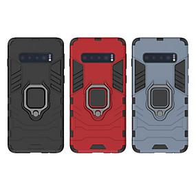 olcso Galaxy S9 tokok-Case Kompatibilitás Samsung Galaxy iPhone XS / S9 / S9 Plus Ütésálló / Porálló / Vízálló Fekete tok Egyszínű Kemény TPU / PC