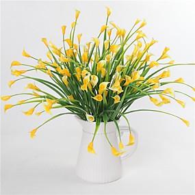 levne Umělé květiny-Umělé květiny 1 Větev Klasické Svatba Pastýřský Styl Okvětní lístky Rostliny Květina na stůl