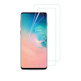 Недорогие Чехлы и кейсы для Galaxy S-Samsung GalaxyScreen ProtectorS9 HD Защитная пленка для экрана и задней панели 1 ед. TPU