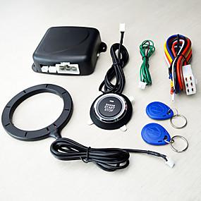 olcso Autóriasztók-12v univerzális indításgátló intelligens kulcs RFID autós riasztó nyomógomb indítása kulcs nélküli transzponder