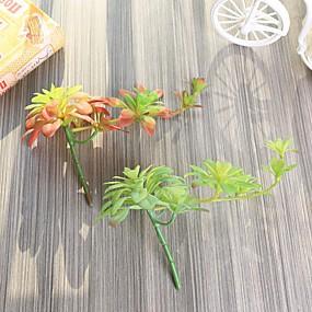 levne Umělé květiny-Umělé květiny 1 Větev Klasické stylové Moderní soudobé Sukulentní rostliny Květina na stůl