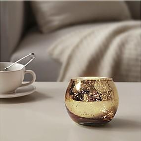 billige Home Fragrances-Moderne Moderne / minimalistisk stil glas / Glas Lysestager Fødselsdag / Lampet / Kandelaber 12pcs, Candle / Candle Holder