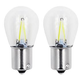 olcso Car Signal Lights-1db 1156/1157 autó izzók 2 w cob 160 lm 2 led forgásjelző lámpák / féklámpák / hátrameneti lámpák univerzális minden évben