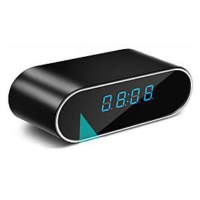 ieftine Securitate & Siguranță-ceas ascuns camera cu wifi rotund 1 mp 720p ip camera de interior suport 32 gb camera de supraveghere securitate detectare mișcare ir viziune de noapte acces la distanță aplicație de telefon