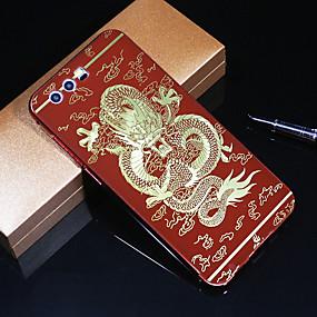billige Etuier/covers til Huawei Honor-Etui Til Huawei Honor 9 Mønster Bagcover Dyr Hårdt Akryl / Metal