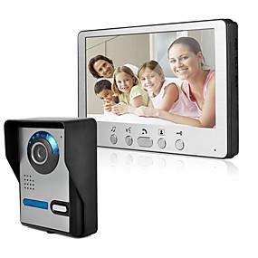 povoljno Video portafoni-ultra-tanki 7-inčni žičani video zvono hd vila video interfon vanjska jedinica podesiva 815fa11