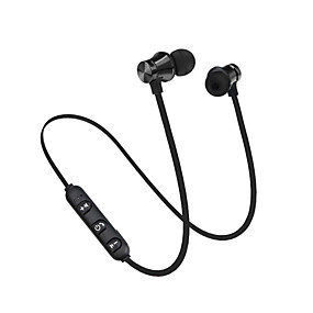 رخيصةأون سماعات الرياضة-سماعة بلوتوث ستيريو 4.2 سماعة لاسلكية في الأذن سماعات الأذن المغناطيسي