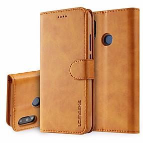 ieftine Huawei-piele flip caz pentru huawei p20 / p20 pro / p30 / p30 lite / p30 pro huawei telefon caz pentru huawei pro flip cazuri acopere portofel cartea titular carte