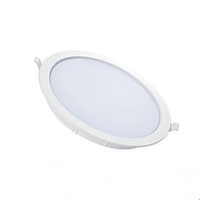 olcso Beépíthető-1db 5 W 210-310 lm 10 LED gyöngyök LED mélysugárzók Meleg fehér Hideg fehér 220-240 V Kereskedelmi Nappali / ebédlő