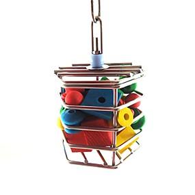 cheap Bird Accessories-Bird Perches & Ladders Pet Friendly Focus Toy Felt / Fabric Toys Bird Metal 16 cm