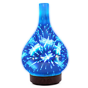رخيصةأون مصابيح ليد مبتكرة-1PC الصمام ليلة الخفيفة دس بالطاقة لون التغير / ترطيب / هدية رومانسية 24 V