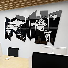 povoljno Ukrasne naljepnice-Dekorativne zidne naljepnice - Zidne naljepnice ogledala Odmor Stambeni prostor / Ured