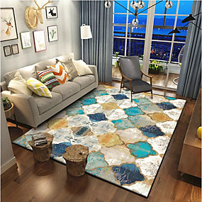 cheap Mats & Rugs-Area Rugs Classic / Traditional Polyster, Rectangle Superior Quality Rug
