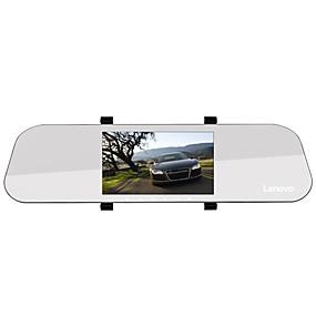 Недорогие Видеорегистраторы для авто-Lenovo HR02 1080p Full HD / с задней камерой / Загрузочная автоматическая запись Автомобильный видеорегистратор 170° Широкий угол 5 дюймовый IPS Капюшон с Ночное видение / G-Sensor / Режим парковки