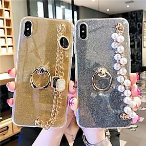 voordelige Huawei Honor hoesjes / covers-hoesje Voor Huawei Huawei Nova 3i / Huawei Nova 4 / Huawei P20 Glitterglans Achterkant Glitterglans Hard TPU