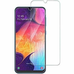 Недорогие Чехлы и кейсы для Galaxy A-Samsung GalaxyScreen ProtectorSamsung Galaxy A40 (2019) HD Защитная пленка для экрана 1 ед. Закаленное стекло