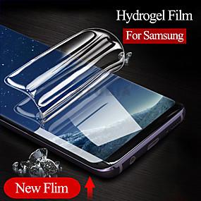 Недорогие Чехлы и кейсы для Galaxy S-пленка для samsung s10 протектор экрана мягкая гидрогелевая пленка для samsung galaxy s10 s9 plus note 9 note 8 не стеклянная защитная пленка