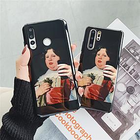 Недорогие Чехлы и кейсы для Galaxy Note 8-Кейс для Назначение SSamsung Galaxy Note 9 / Note 8 IMD / С узором Кейс на заднюю панель Соблазнительная девушка Мягкий ТПУ