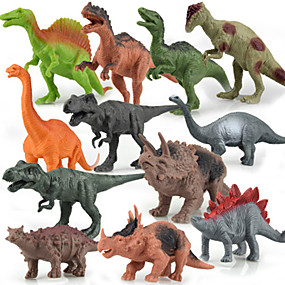 olcso Klasszikus játékok-12 pack dinoszauruszok modell ruha Akció figurák játék