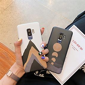 Недорогие Чехлы и кейсы для Galaxy Note 8-Кейс для Назначение SSamsung Galaxy Note 9 / Note 8 IMD / С узором Кейс на заднюю панель Пейзаж Мягкий ТПУ