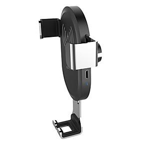 voordelige Autoladers-auto mount qi draadloze oplader voor iphone xs max x xr 8 snelle draadloze opladen auto telefoonhouder