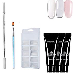 ieftine Sănătate & Înfrumusețare-4pcs / set poli gel set condus clar UV gel lac lac de unghii set de arta constructie rapida pentru prelungiri unghii gel geliu poliegel