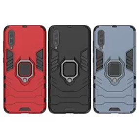 Недорогие Чехлы и кейсы для Huawei Mate-Кейс для Назначение Huawei Huawei P20 / Huawei P20 Pro / Huawei P20 lite Защита от удара / Кольца-держатели Кейс на заднюю панель Однотонный ПК / P10 Plus / P10 Lite / P10 / Mate 9 Pro