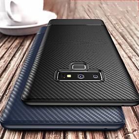 Недорогие Чехлы и кейсы для Galaxy Note 8-Чехол для телефона из мягкого тпу из углеродного волокна для Samsung Galaxy Note 9 Note 8 Чехол силиконовый