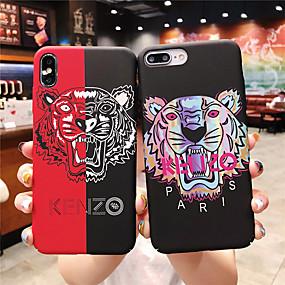 voordelige iPhone 11 Pro Max hoesjes-geval voor apple iphone xr / iphone xs max patroon / glow in the dark achterkant cartoon harde pc voor iphone x xs 8 plus 8 7 plus 7 6 6s 6 plus 6 splus