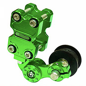 Недорогие Запчасти для мотоциклов и квадроциклов-moto bike cnc натяжитель цепи натяжитель цепи на ролике менее 400 куб. см