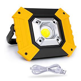 olcso LED projektorok-1db 20w cob világítás usb töltés kültéri kemping könnyű sürgősségi hordozható könnyű mobil teljesítmény keresés gyep lámpa
