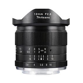olcso Mobiltelefon kamera-7Artisans 1X 110 Degree Kamera lencse Objektívek Sony Széles látószög
