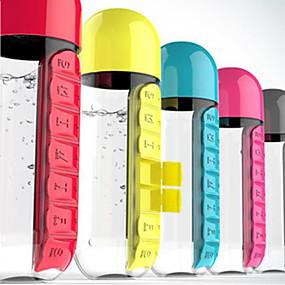 olcso Utazás-Bögre / csésze / Gyógyszeres doboz / tok utazáshoz / Elsősegély doboz Műanyag Hordozható Egyszínű