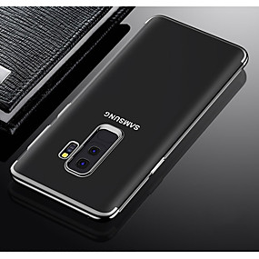 voordelige Galaxy A5(2016) Hoesjes / covers-hoesje Voor Samsung Galaxy A3 (2017) / A5 (2017) / A7(2016) Schokbestendig / Stofbestendig Achterkant Transparant Zacht TPU / silica Gel