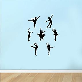 رخيصةأون ملصقات ديكور-لواصق حائط مزخرفة - لواصق حائط الطائرة / الناس ملصقات الحائط حياة هادئة / أشكال غرفة النوم / داخلي
